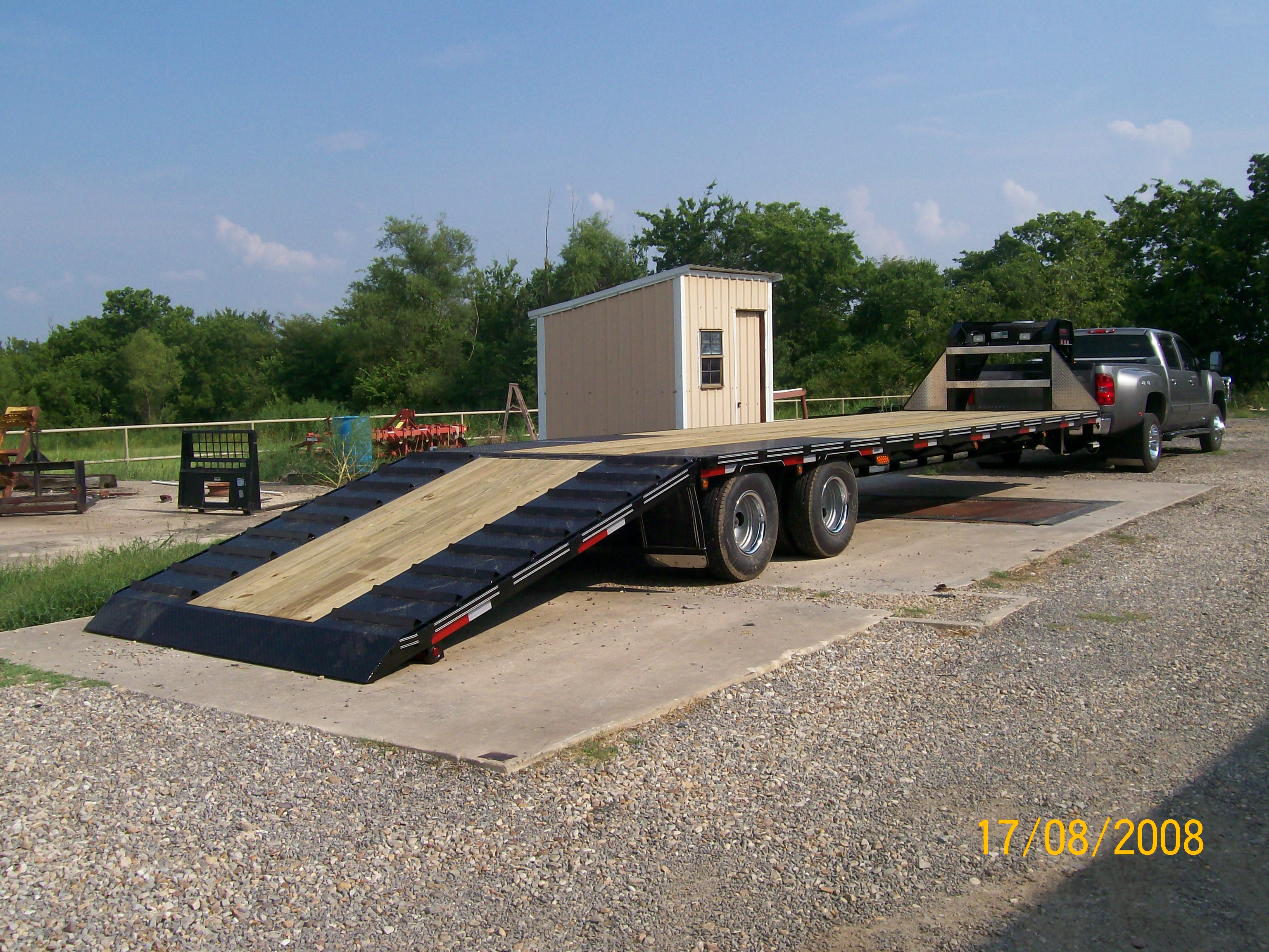 Car haulers, custom built trailers, dump trailers, equipment trailers